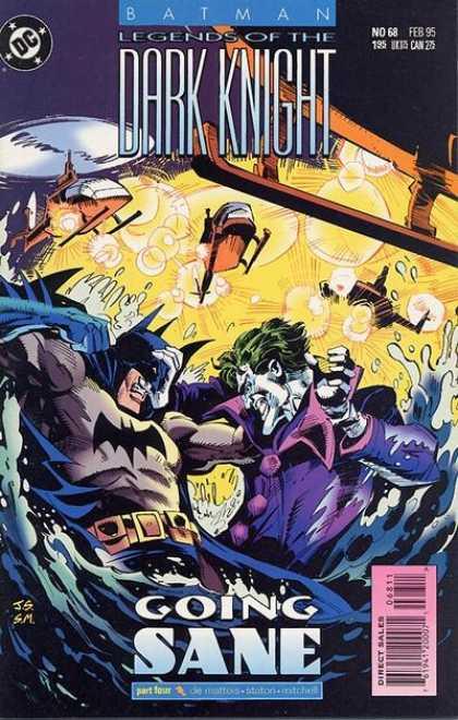 Batman - Legends of the Dark Knight 68 - Going Sane, Part Four: The Deluge!
