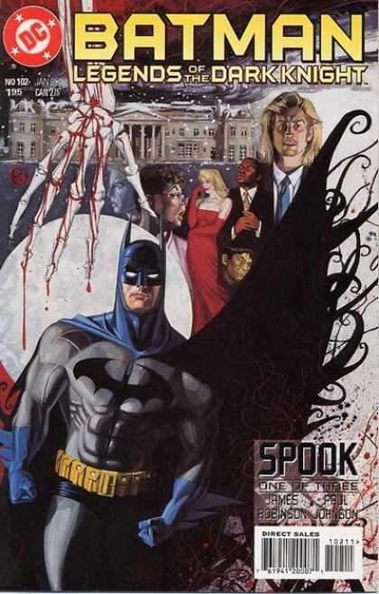 Batman - Legends of the Dark Knight 102 - Spook, Part One