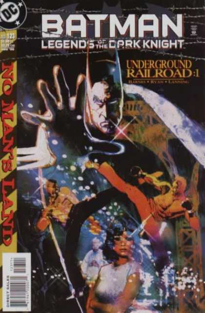 Batman - Legends of the Dark Knight 123 - No Man's Land: Underground Railroad: Part One