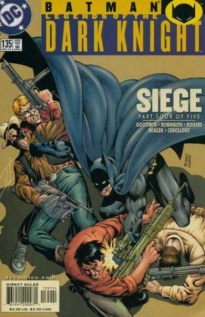 Batman - Legends of the Dark Knight 135 - Siege, Part Four: Battle