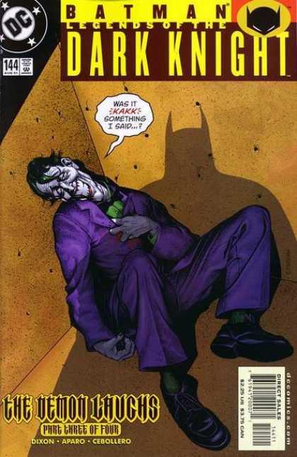 Batman - Legends of the Dark Knight 144 - The Demon Laughs, Part Three: The mars Hare