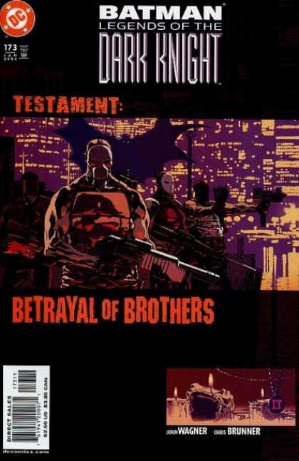 Batman - Legends of the Dark Knight 173 - Testament: Betrayal Of Brothers
