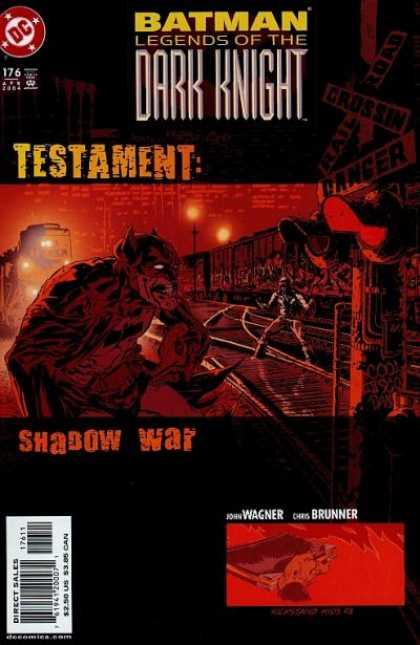 Batman - Legends of the Dark Knight 176 - Testament: Shadow War