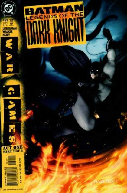 Batman - Legends of the Dark Knight 182 - War Games: Act 1, Part 2 of 8: Behind Enemy Lines