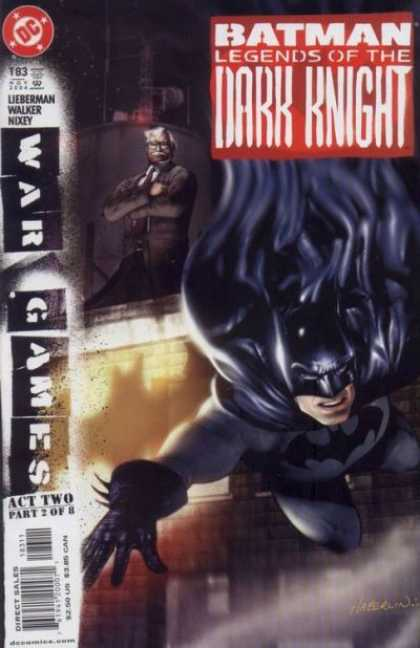 Batman - Legends of the Dark Knight 183 - War Games: Act 2, Part 2 of 8: Philosophical Differences