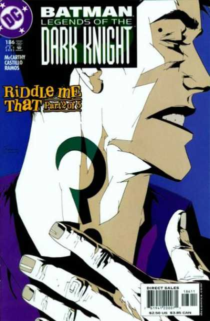 Batman - Legends of the Dark Knight 186 - Riddle Me That, Part Two