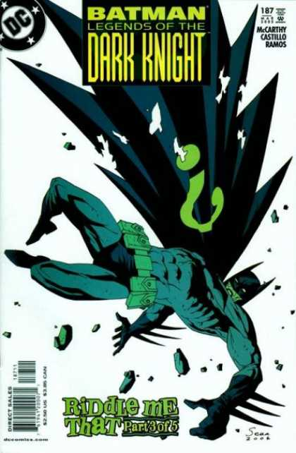Batman - Legends of the Dark Knight 187 - Riddle Me That, Part Three