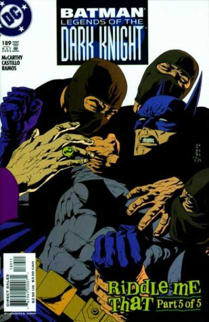 Batman - Legends of the Dark Knight 189 - Riddle Me That, Conclusion