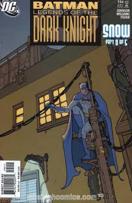Batman - Legends of the Dark Knight 194 - Snow, Part Three: Blind