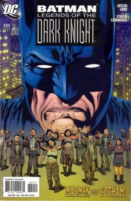 Batman - Legends of the Dark Knight 204 - The Madmen of Gotham, Part One of Three