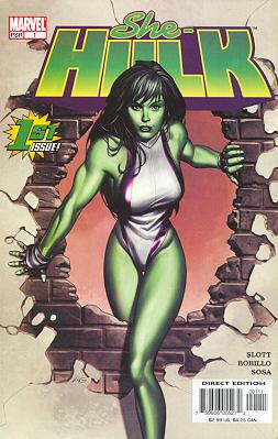 Miss Hulk 1 - The Girl from Gamma Gamma Gamma