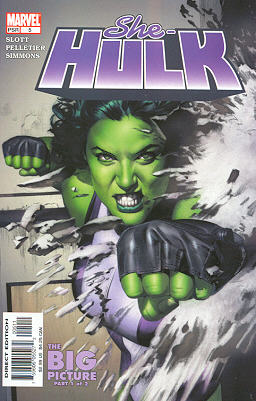 Miss Hulk 5 - The Big Picture, Part 1: More Than a Handful