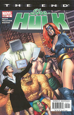 Miss Hulk 12 - Some Disassembly Required