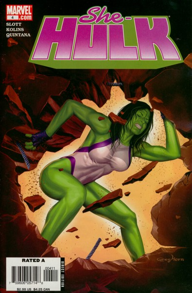 Miss Hulk 4 - Back to Bone