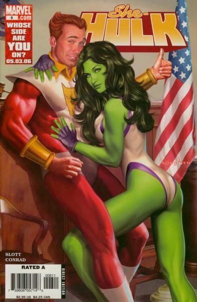 Miss Hulk 6 - Beaus & Eros, Part 1: I'm With Cupid