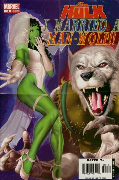 Miss Hulk 10 - I Married a Man-Wolf
