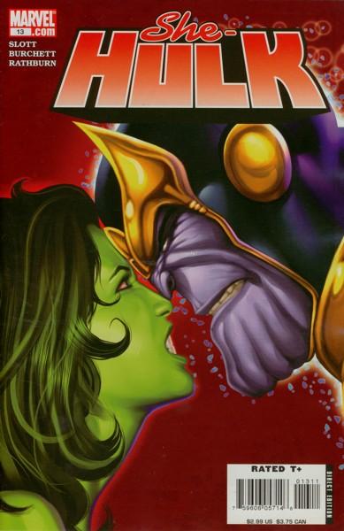 Miss Hulk 13 - Mind Field