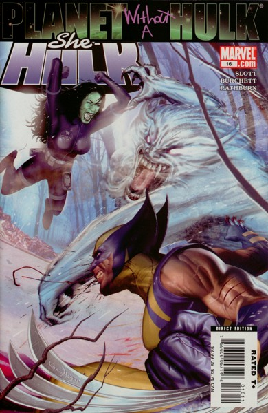 Miss Hulk 16 - Planet Without a Hulk, Part 2: Gamma Flight