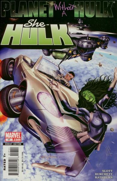 Miss Hulk 17 - Planet Without a Hulk, Part 3: Shock After Shock