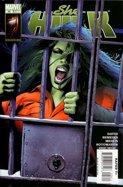 Miss Hulk 28 - Dark Art: Part 1