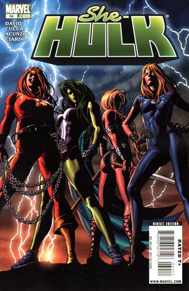 Miss Hulk 34 - Lady Liberators: Part 1