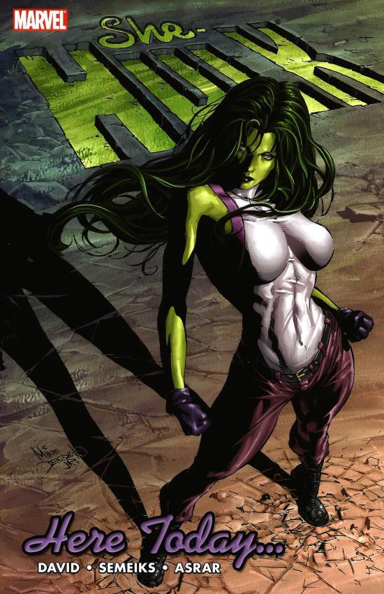 Miss Hulk 7 - Here Today...