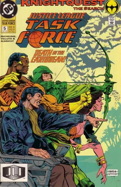 Justice League Task Force 5 - Knightquest: The Search