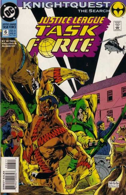 Justice League Task Force 6 - Knightquest: The Search