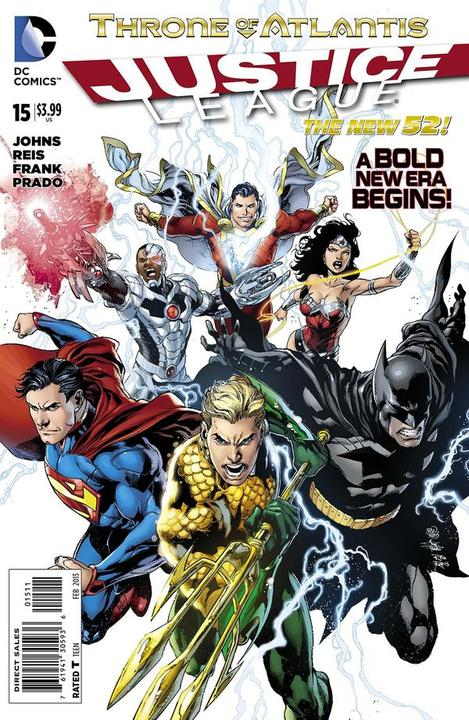 Justice League 15 - 15 - cover #1