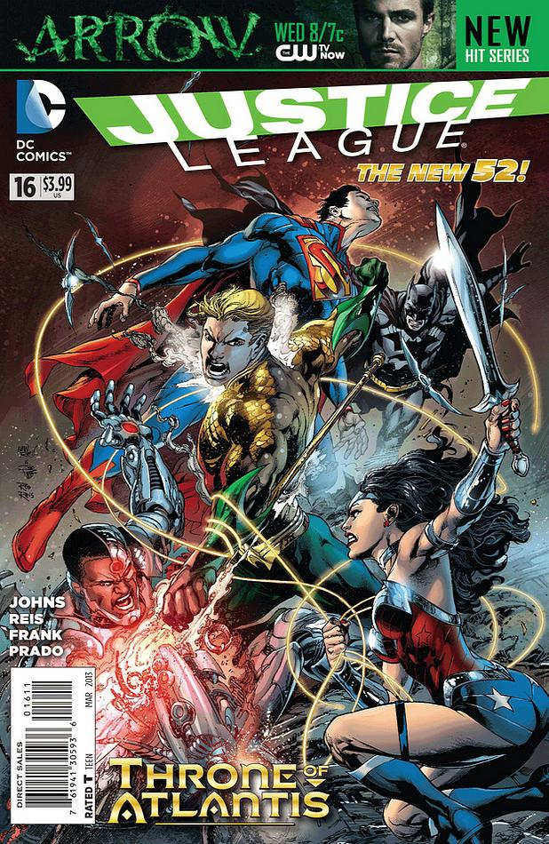 Justice League 16 - 16 - cover #1