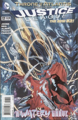 Justice League 17 - 17 - cover #1