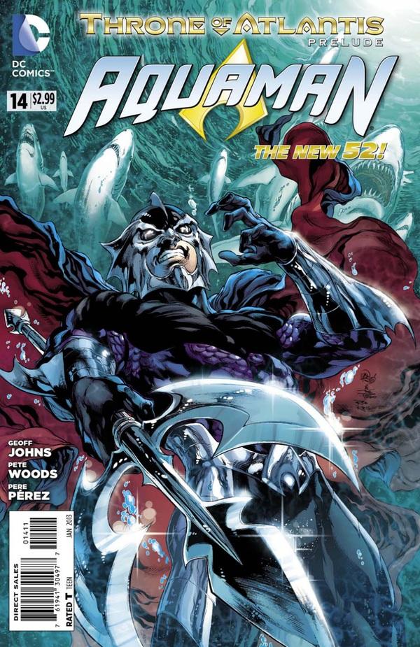 Aquaman 14 - 14 - cover #1