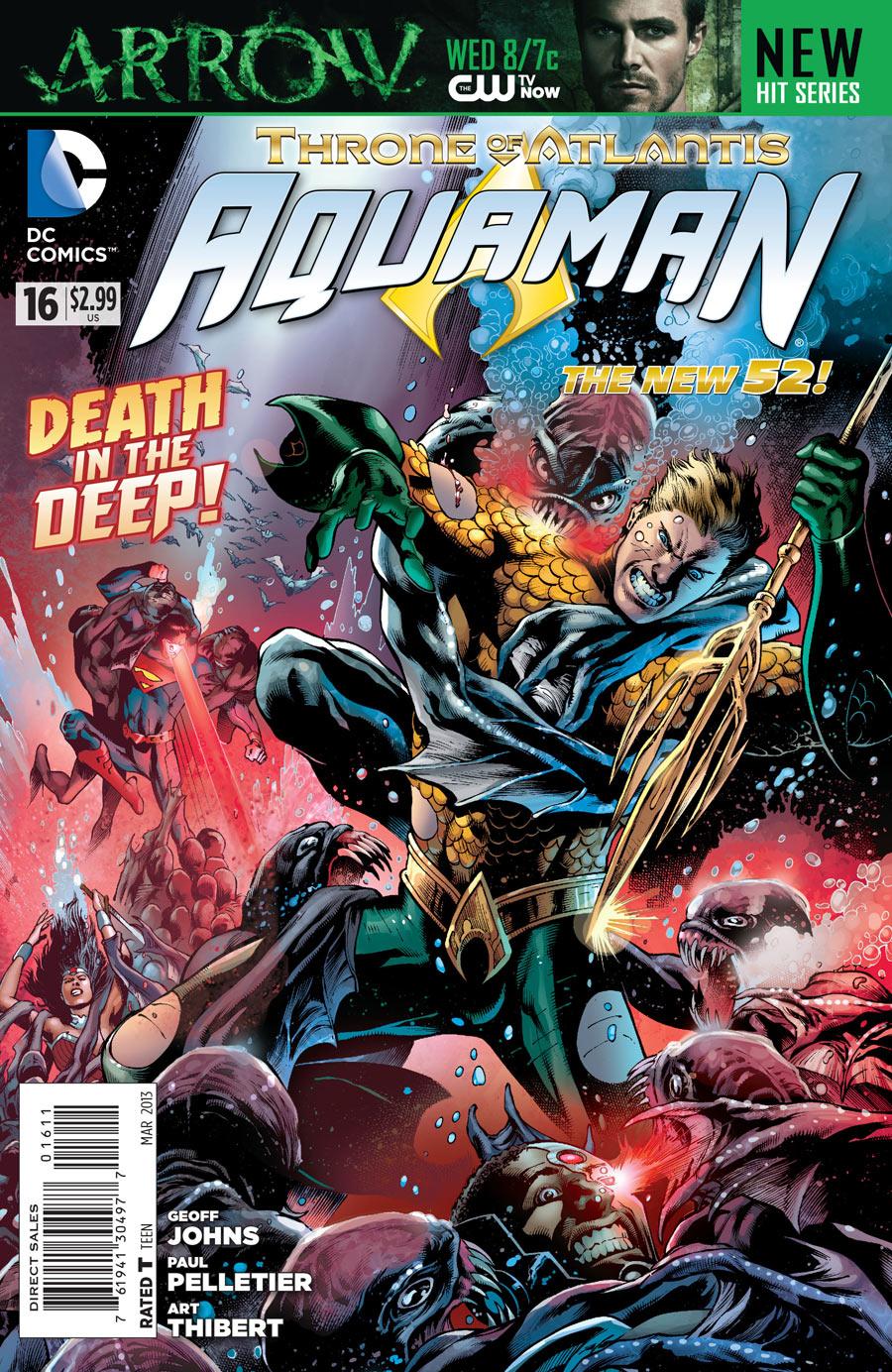 Aquaman 16 - 16 - cover #1