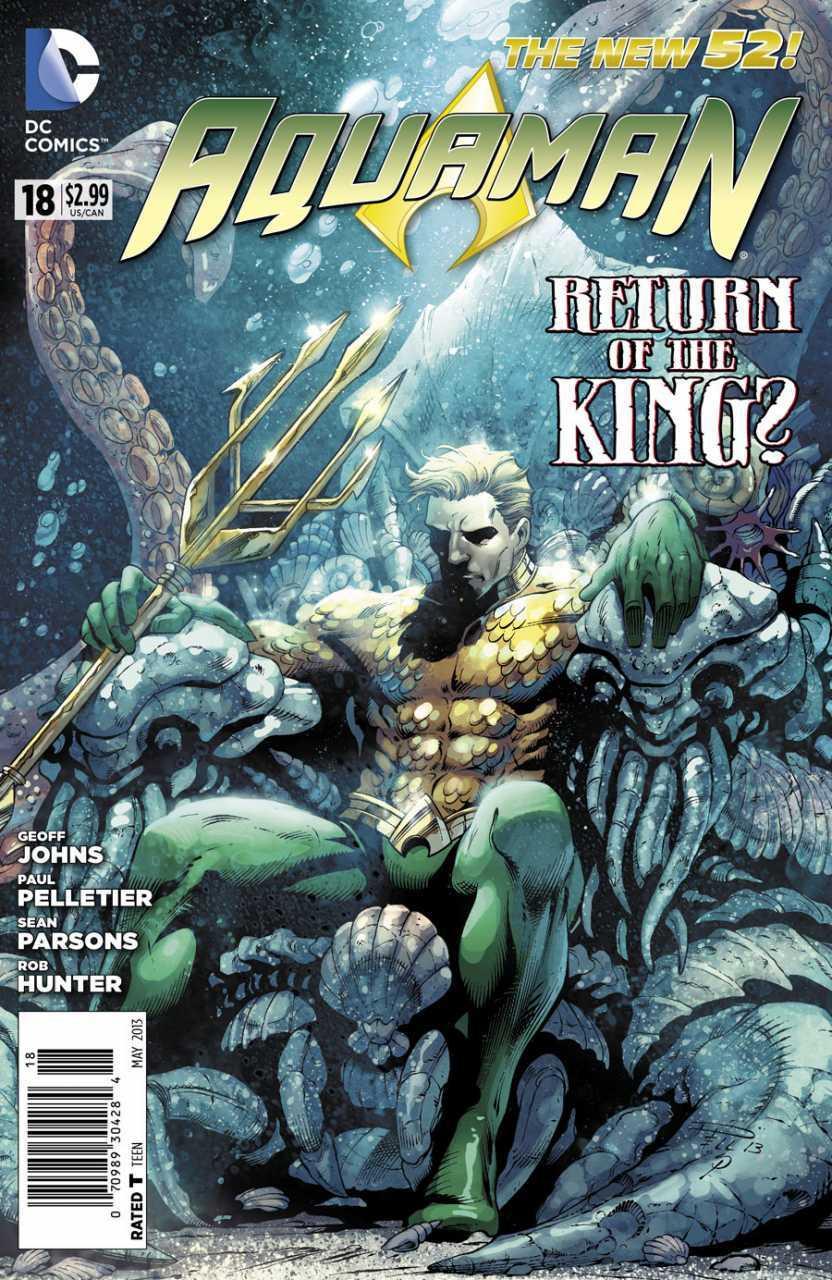 Aquaman 18 - 18 - cover #1