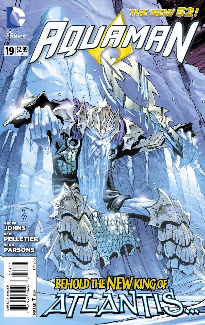 Aquaman 19 - 19 - cover #1