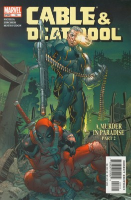 Cable / Deadpool 14 - A Murder in Paradise, Part 2: Don't Ask, Don't Tell