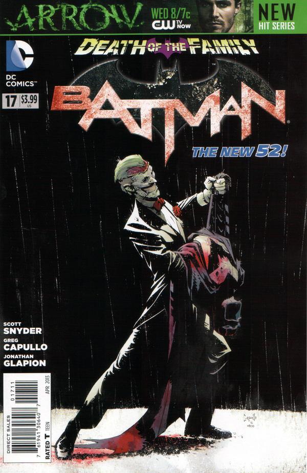 Batman 17 - 17 - cover #1