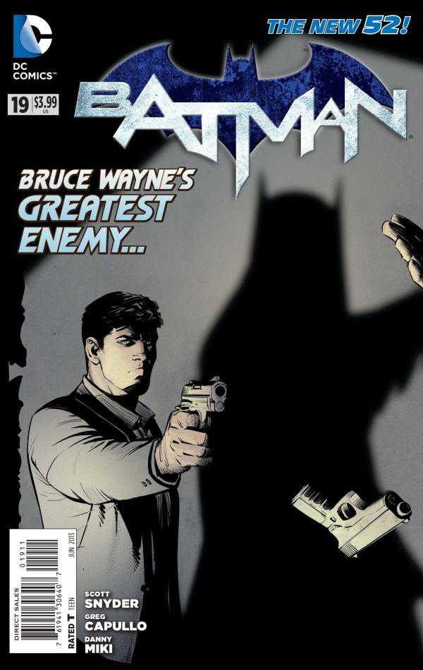 Batman 19 - 19 - cover #1
