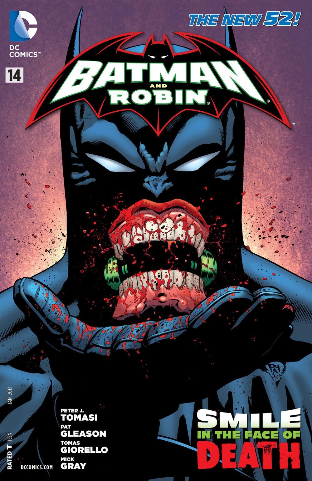 Batman & Robin 14 - Batman and Robin - Smile in the Face of Death