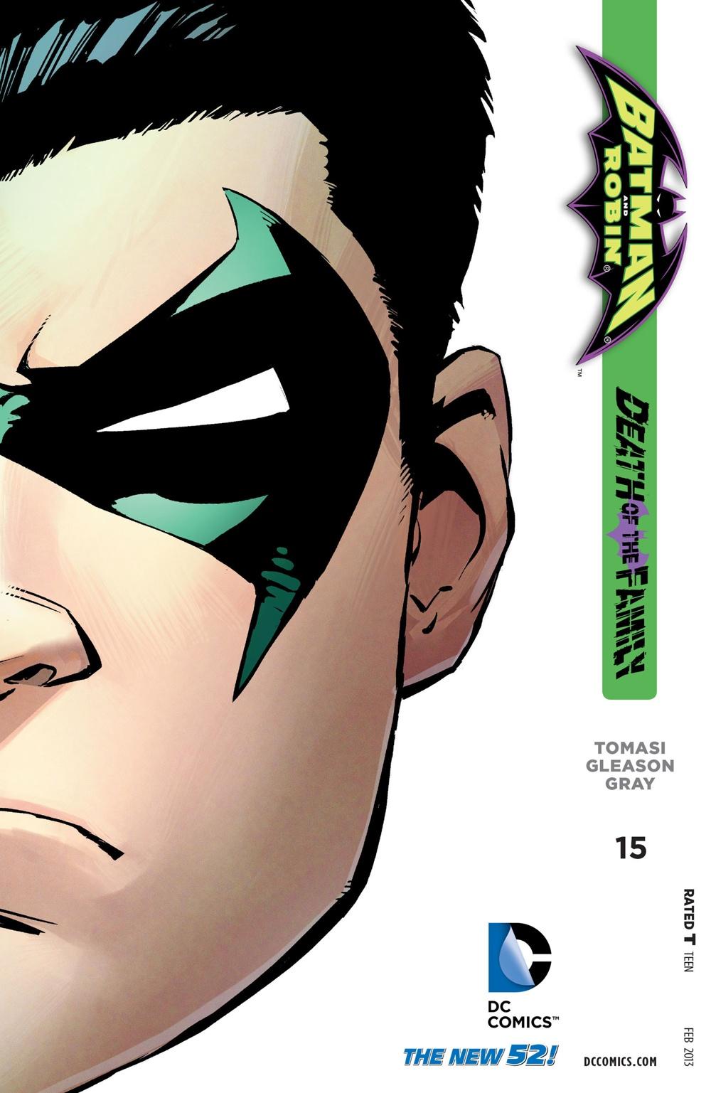 Batman & Robin 15 - Batman and Robin - Death of the Family