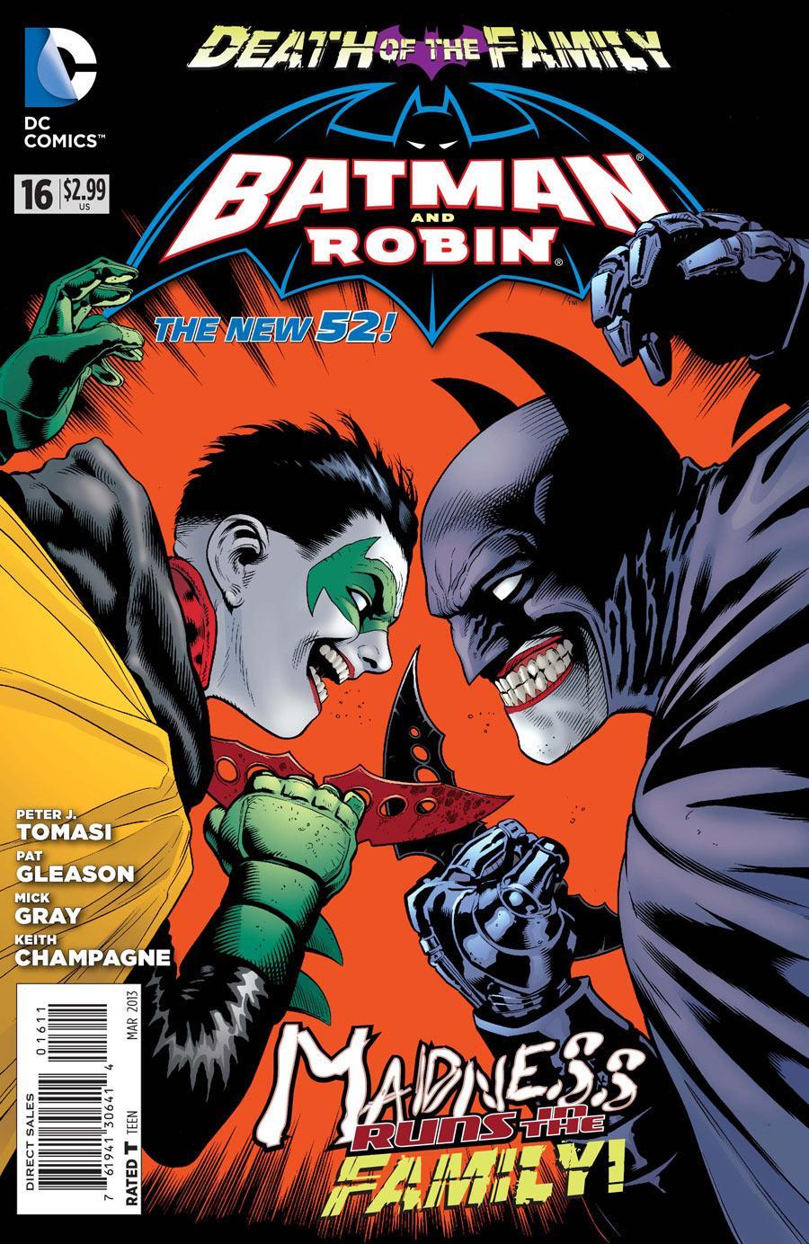 Batman & Robin 16 - Batman and Robin - Death of the Family