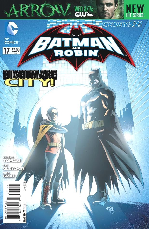 Batman & Robin 17 - Batman and Robin - Nightmare City