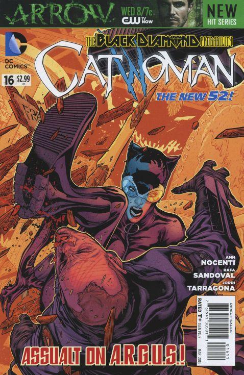 Catwoman 16 - Battle In Black