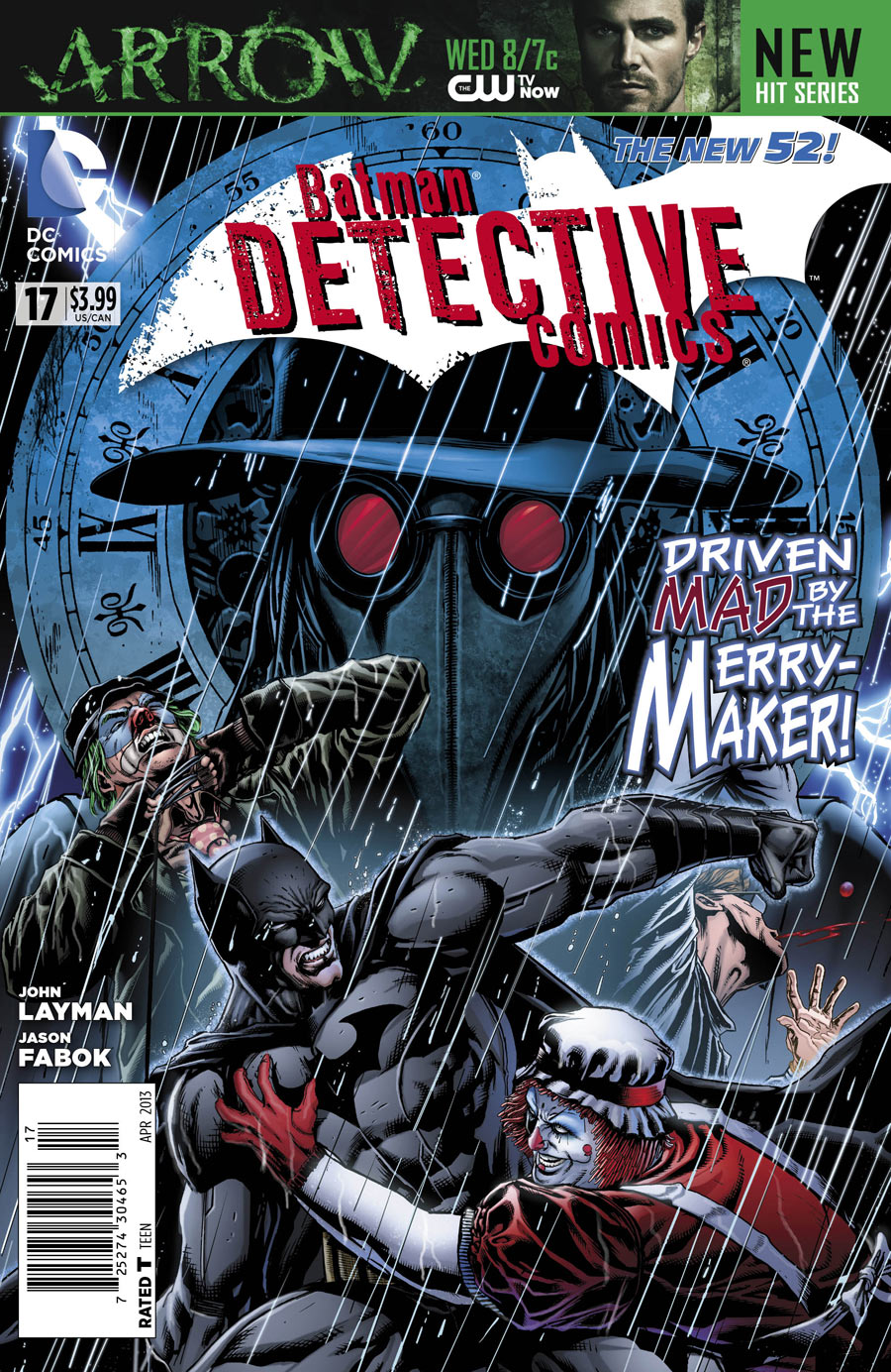 Batman - Detective Comics 17 - The Pursuit of Happiness