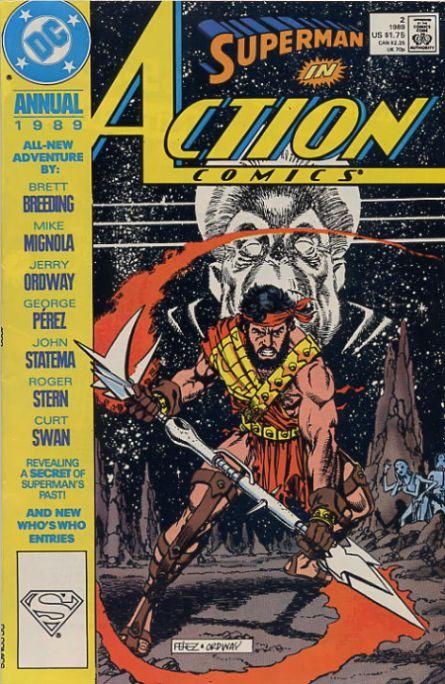 Action Comics 2 - 1989 : Memories Of Krypton's Past