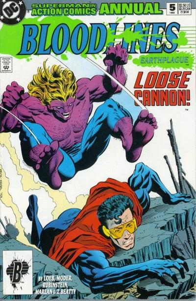 Action Comics 5 - 1993 : Loose Cannon