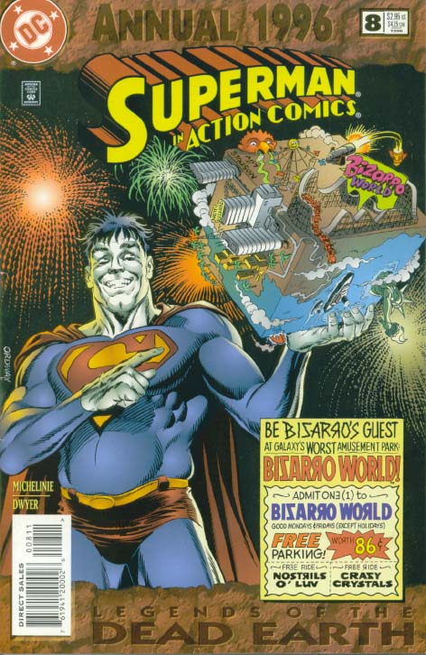 Action Comics 8 - 1996 : A World of Hurt