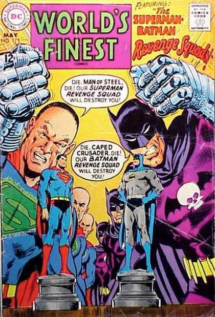 World's Finest 175 - The Superman-Batman Revenge Squads!