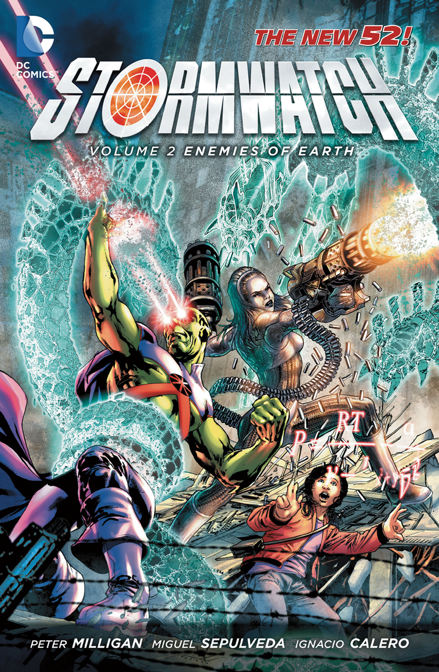Stormwatch 2 - Enemies of Earth (The New 52)