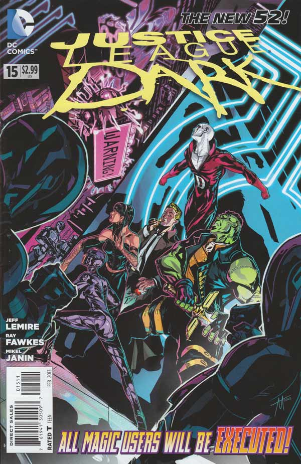 Justice League Dark 15 - The Death of Magic Part 1: Up Is Down